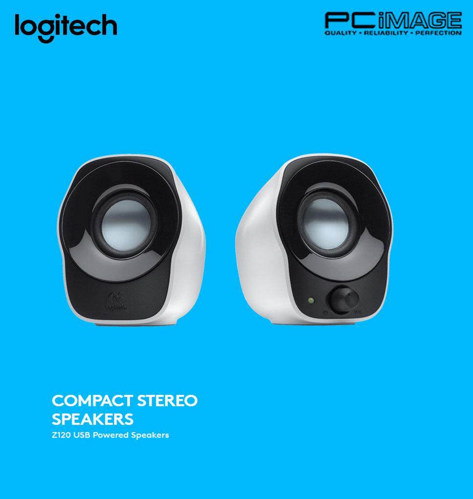 Sell Logitech Z120 2 Cheapest Best Quality My Store Stereo Speakers 2unit X Speakermyr55 Myr 55
