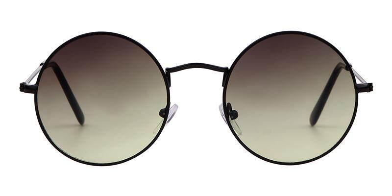 9960138844 Summer Retro Round Sunglasses Brand Designer Men Women 2018 Vintage Circle  black red pink Lens Sun