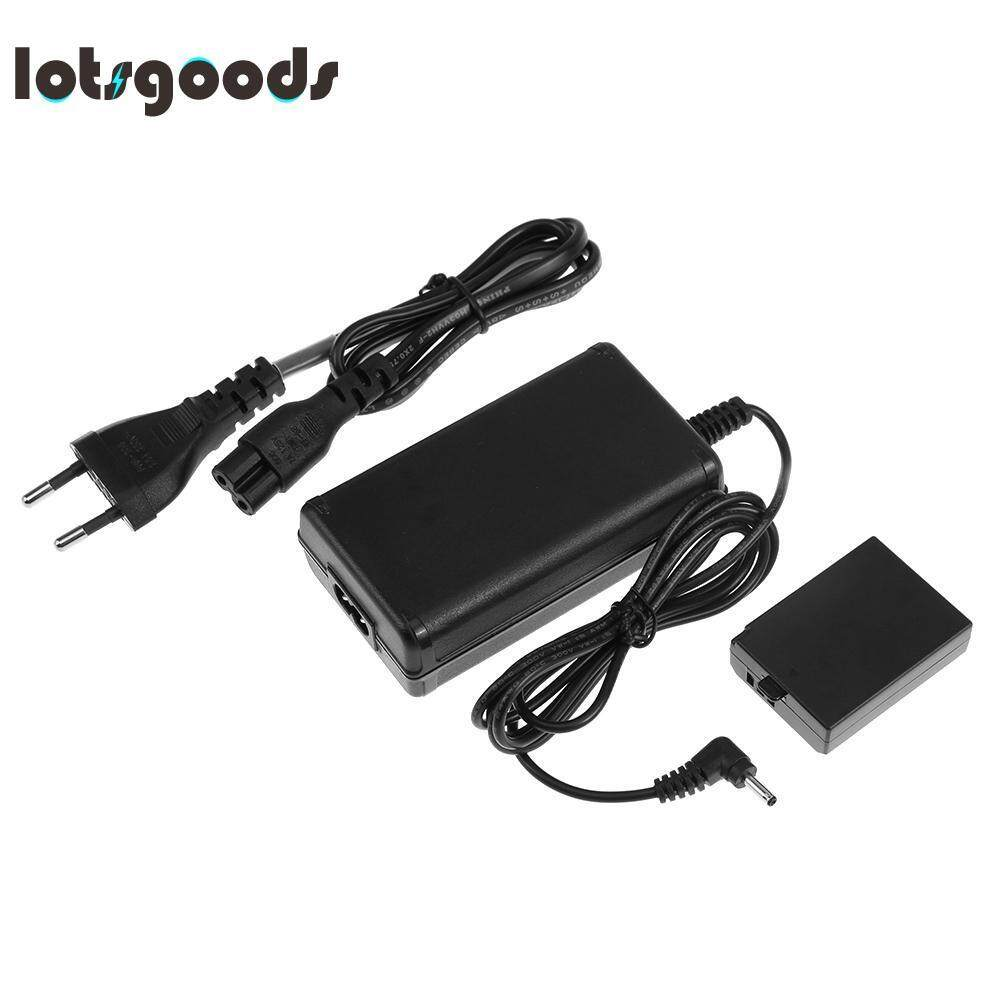 ACK-E10 Power Adapter Kit for Canon DSLR Camera EOS 1100D 1200D X50T3(Black)-EU plug