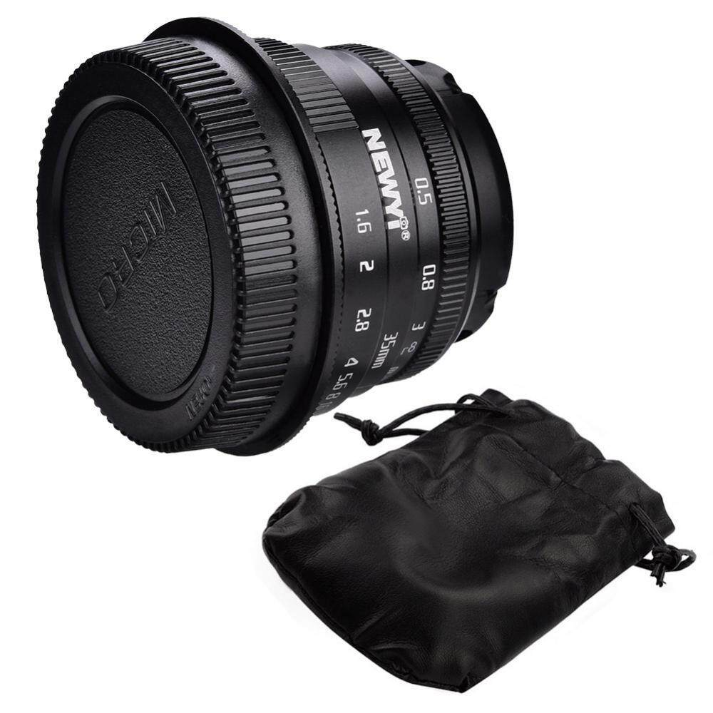 35mm f1.6 Manual Focusing Lens for DSLR SLR Cameras Photography Accessories (for Canon Mount)