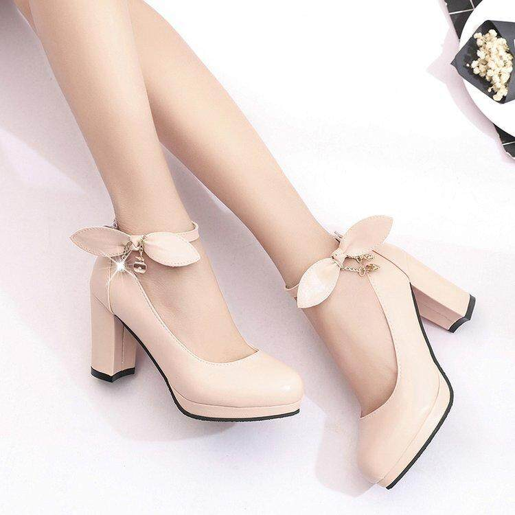 c5233f023 Specifications of 2018 New Fashion Woman Pumps Cross-tied Ankle Strap  Wedding Party Shoes Platform Dress Women Shoes High Heels Suede Ladies Shoes