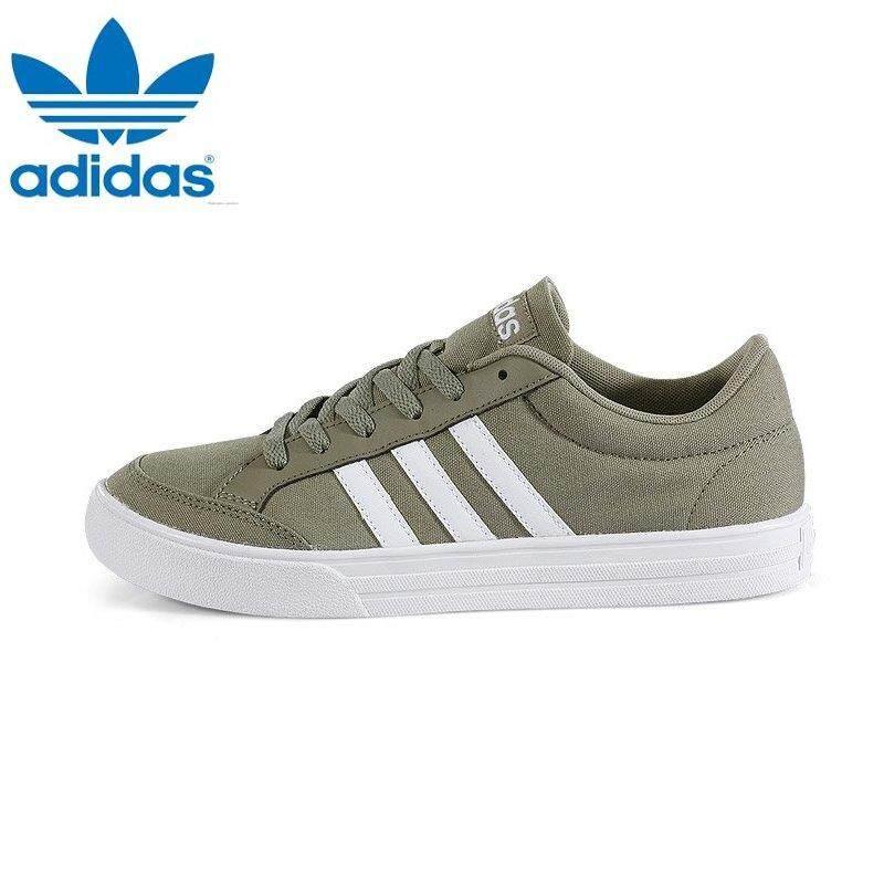 Adidas BB9643 Unisex VS SET Khaki White Sneakers bab7d9715d