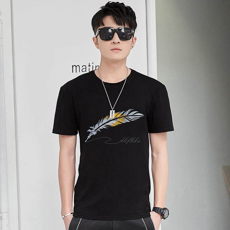 7c069a14e Fashion T shirts Men's Short Sleeve art Design Summer male Tops Tees Casual  Shirts O neck