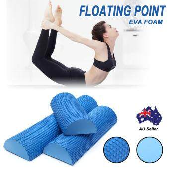 Foam Half-Round Soft Fitness Tools Pilates Roller Yoga Column Physio Massage