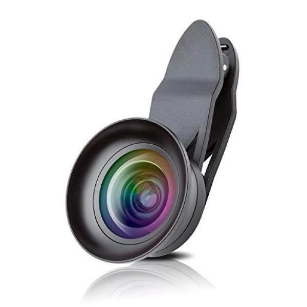 Lensa IPhone, Fuleadture 4 K HD Wide Angle + Aspherical Macro dengan Penutup Lensa, clip-On Ponsel Kamera Perlengkapan Lensa untuk iPhone 7, Samsung dan Earphone Smartphone-Intl