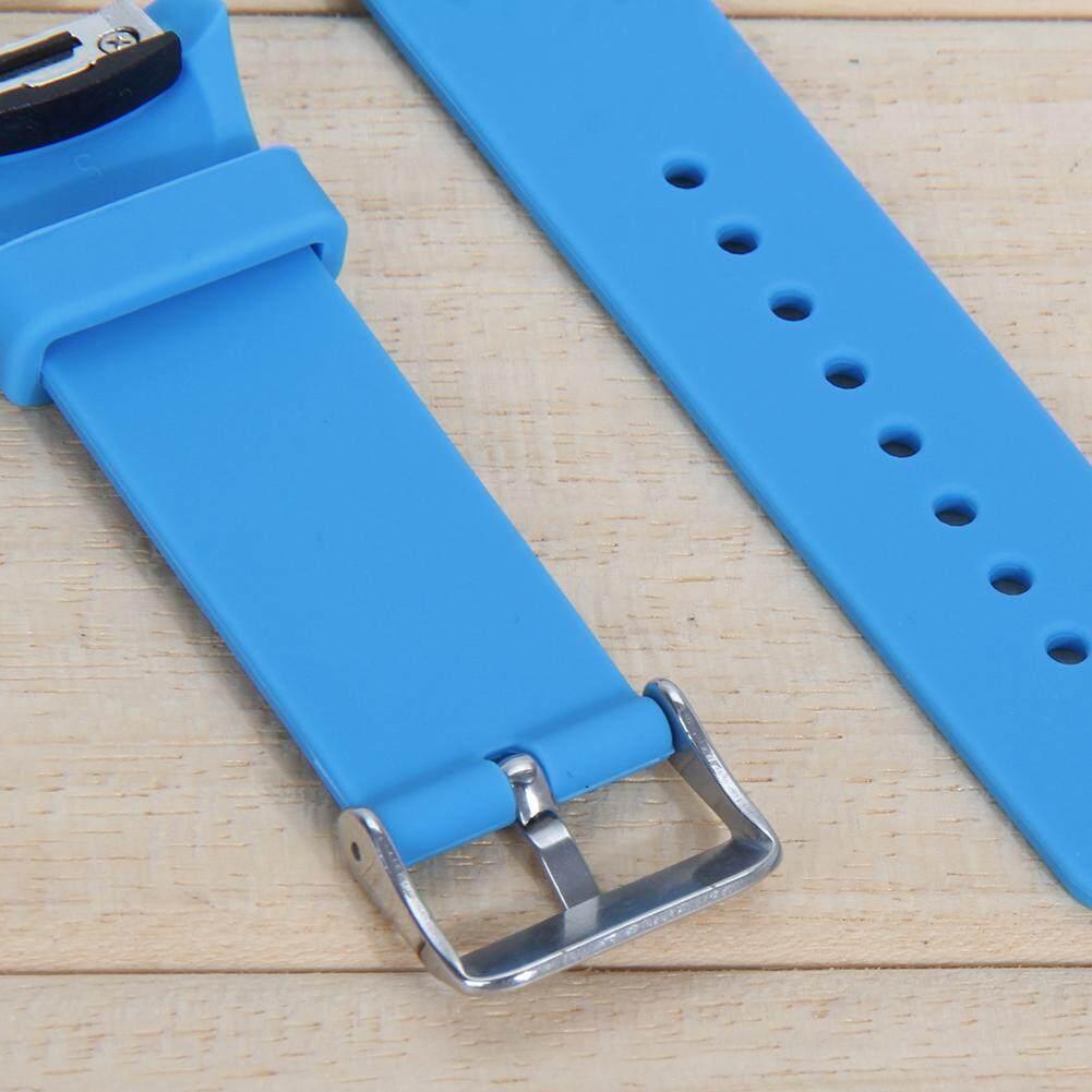 ... Silicone Watch Band Strap For Samsung Galaxy Gear S2 SM-R720(Sky Blue)