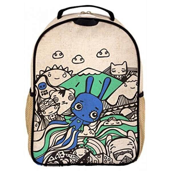Soyoung Balita Ransel-Linen, Ramah Lingkungan, Tidak Beracun, desain Terinspirasi Retro-Pixopop Terbang Stitch Kelinci-Internasional