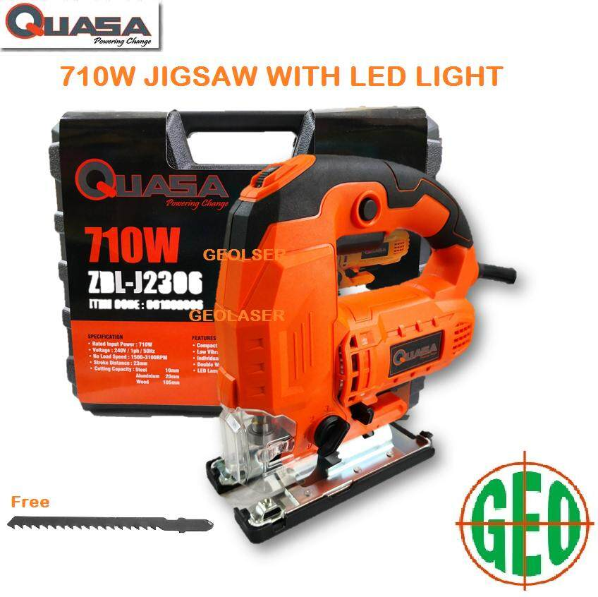 Quasa Powerful 710W 105mm JigSaw With LED Light [ GEOLASER ]