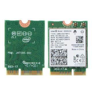 Không Dây AC 9560, Thẻ WiFi Intel 9560NGW 802.11ac NGFF 2.4G 5G Bluetooth4.0 Hỗ Trợ Công Nghệ Đảm Bảo Chính Hãng thumbnail