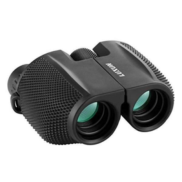 Sgodde Kompak Teropong, Sgodde 10X25 Teropong-Lensa Mata Besar, Super Bertenaga Tinggi Lapangan, cahaya Lemah Malam Vision Prisma Teropong untuk Burung Watching Luar Ruangan Shooting Travelling-Internasional