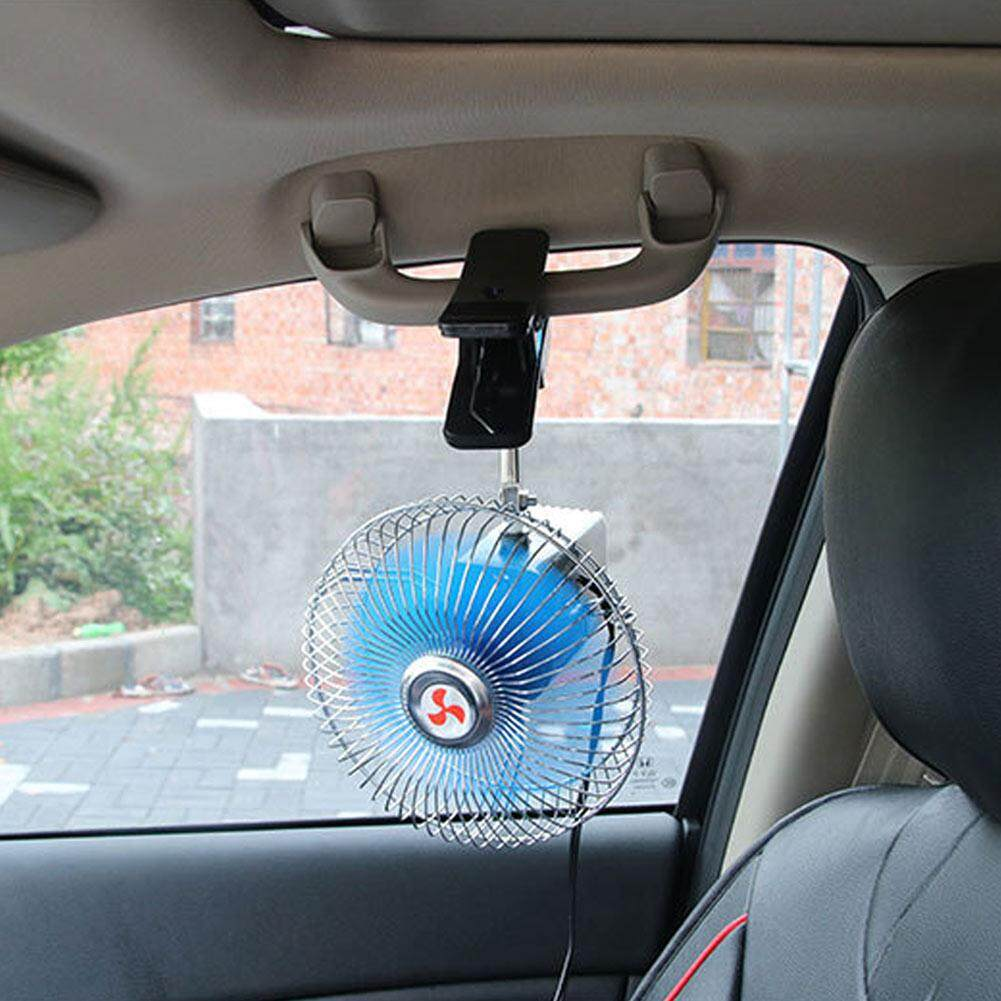 Features Palight Auto Car Cooling Fan Portable 6inch 12v 24v Cool Detail Gambar Dashboard Oscillating Clip On Terbaru