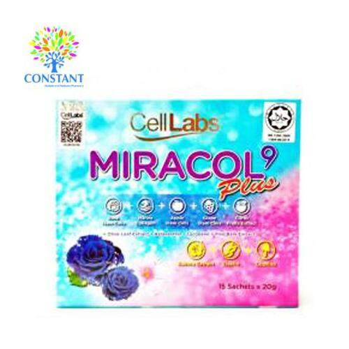 Cell Labs Miracol 9 Plus 20g*15's