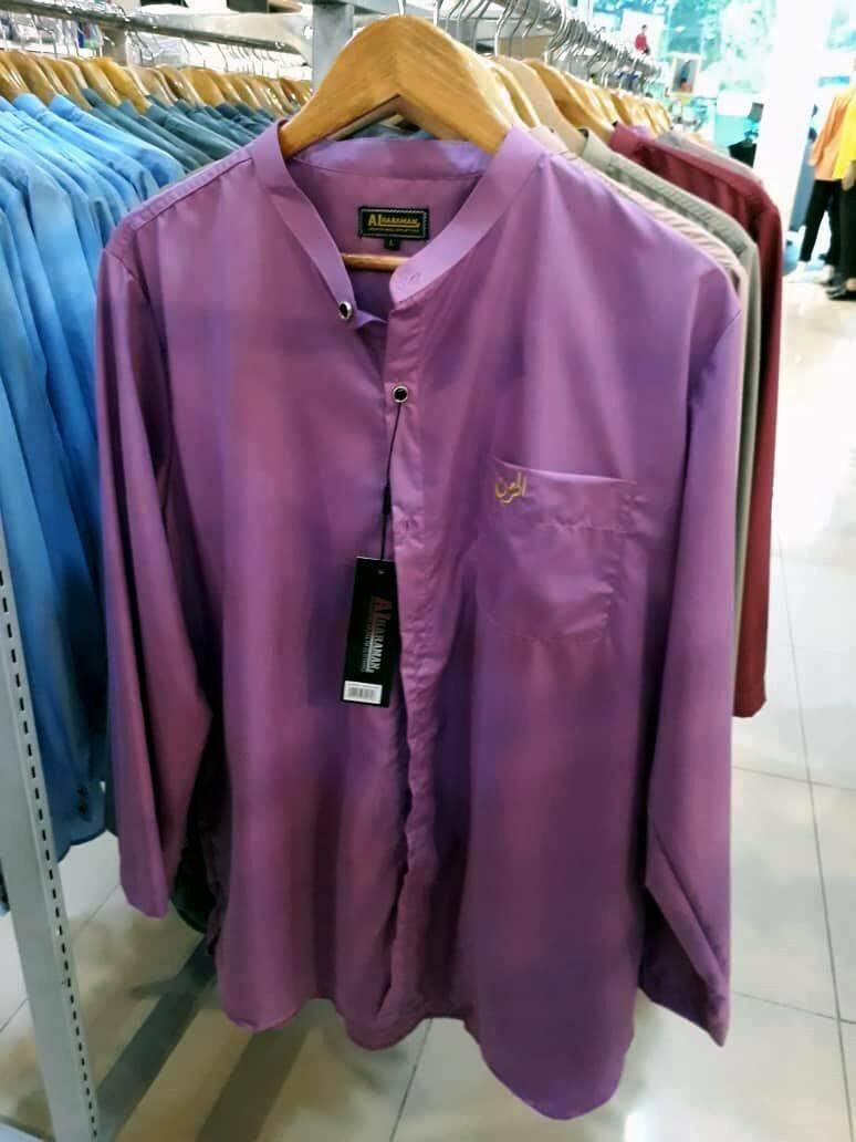 Al-Haraman Kurta Fashion 6 Colours Light Purple ALHARAMAN AL HARAMAN