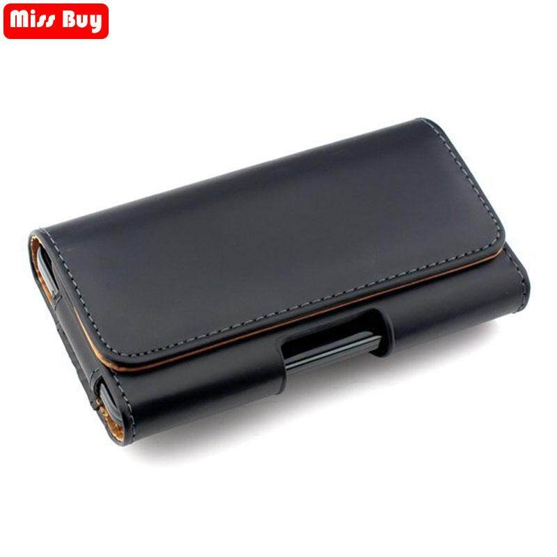 Features 2018 Universal Casual Leather Phone Cover Waist Cases For