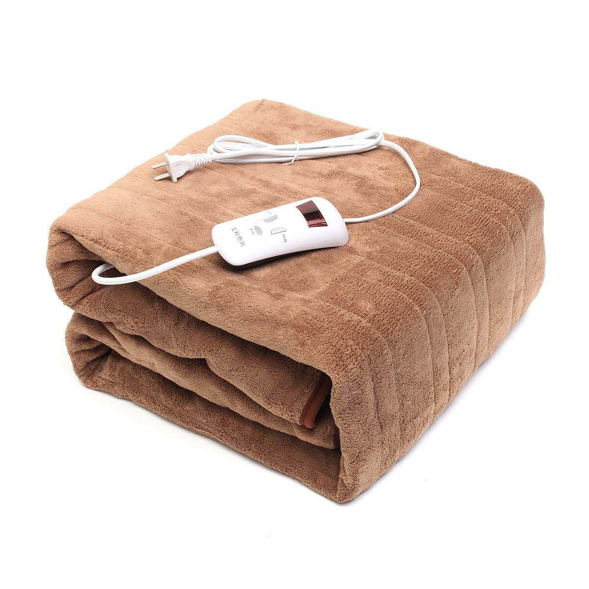 Electric Blanket Double Single-Control Temperature-Resistant, Waterproof And Water-Proof Dormitory Single Electric Mattress - Intl By Threegold.