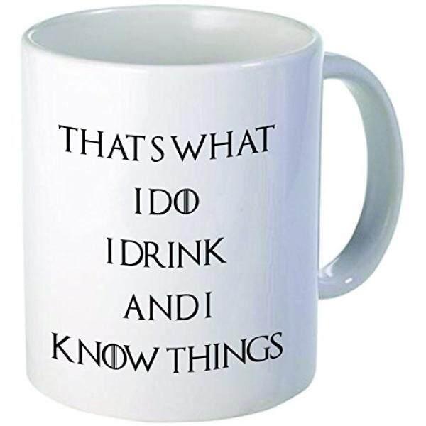 Mug Yang Anda untuk Itu Apa Yang Saya Lakukan, saya Minum dan Aku Tahu Kopi Mug Inspirasi Hadiah dan Sarkasme, 11 Oz.
