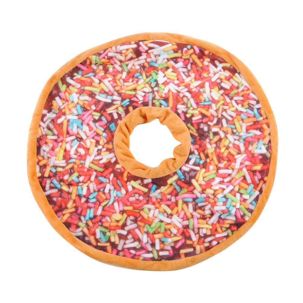 Hình ảnh Mềm mại Sang Trọng Gối Nhồi Bông Ghế Lót Ngọt Donut Thực Phẩm Đệm Lưng Đồ Chơi