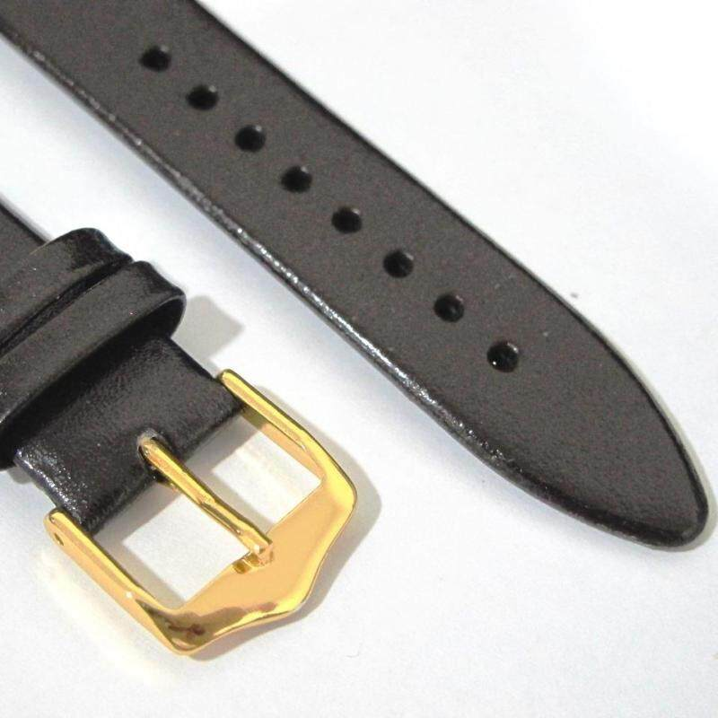 Genuine Leather Watch Band 18MM Brown (Smooth Grain) Malaysia