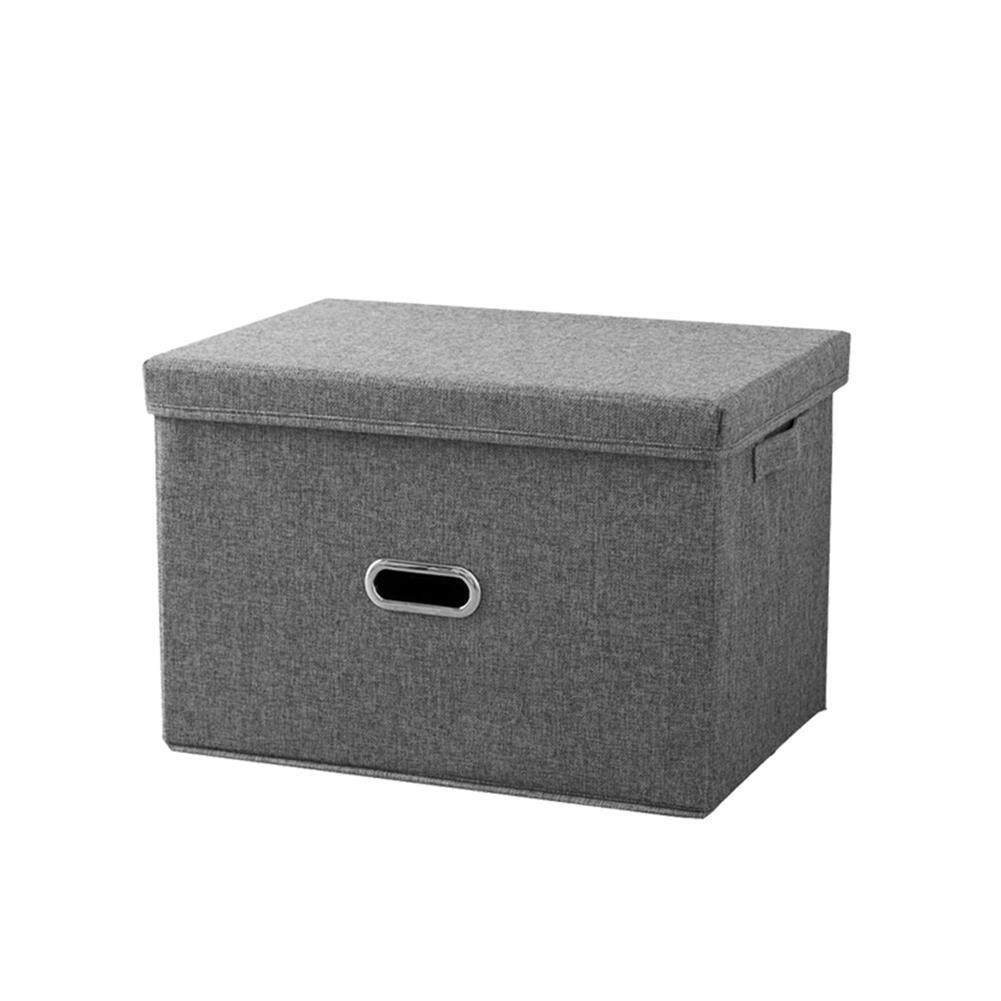 GoodGreat Storage Bins with Lids, Collapsible Storage Containers Cube Storage Organizer Box for Home, Office, Bedroom, Living Room, Closet, Shelves