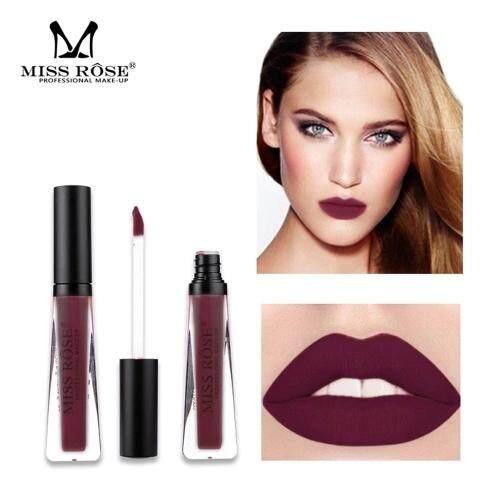 Miss Rose Riasan Wajah Tahan Air Lipstik Hialin Tabung