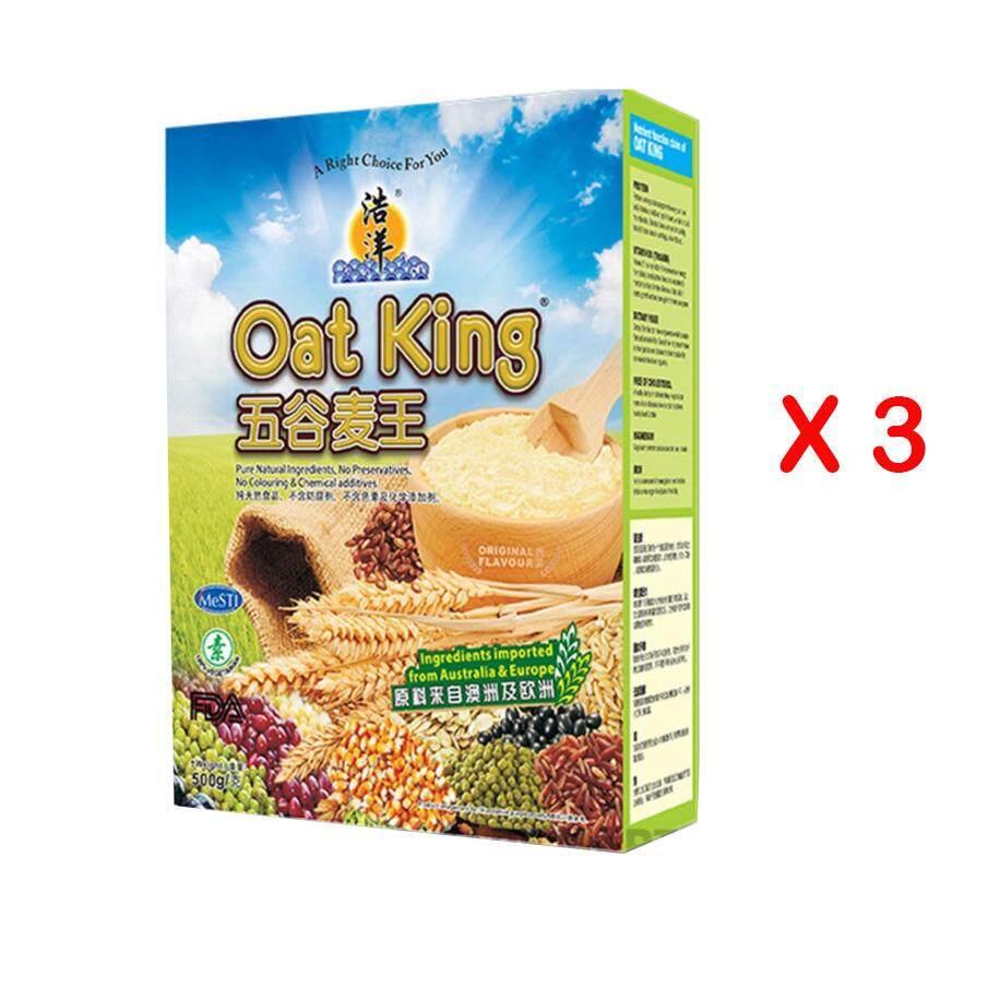 Oat King Original Flavor 500g X 3