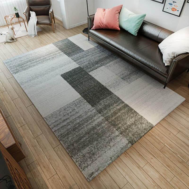 Nordic GeometricTatami Mat Living Room Bedroom Carpet Anti-slip Sofa Tea Table Mats Soft Bedside Footcloth Balcony Area Rug 160x230cm