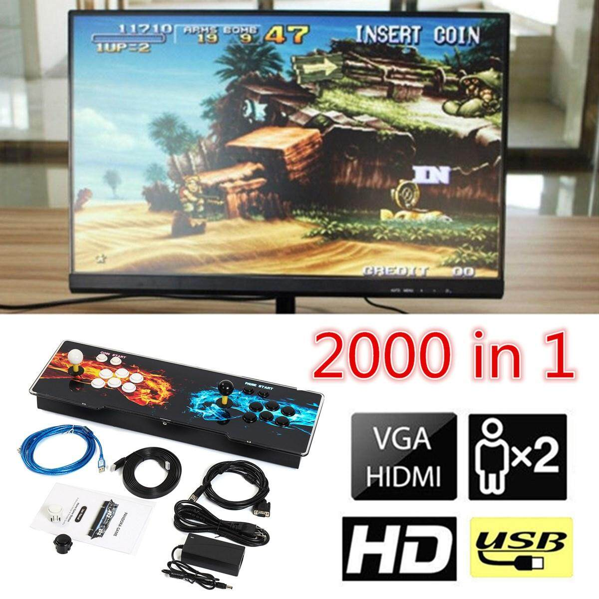 Newest 2000 In 1 Pandoras Box Hdmi Multiplayer Arcade Home Video Game Console By Glimmer.