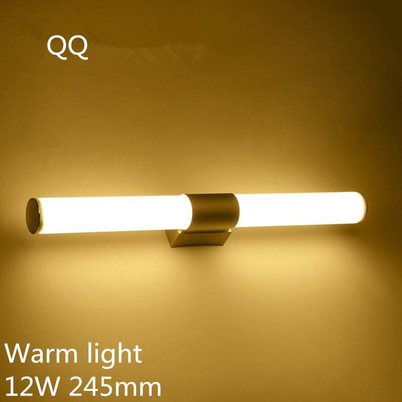 Wall Lamps Bathroom Led Mirror Light Waterproof 12W 16W 22W AC85-265V LED Tube Modern Wall Lamp Bathroom Lighting - intl