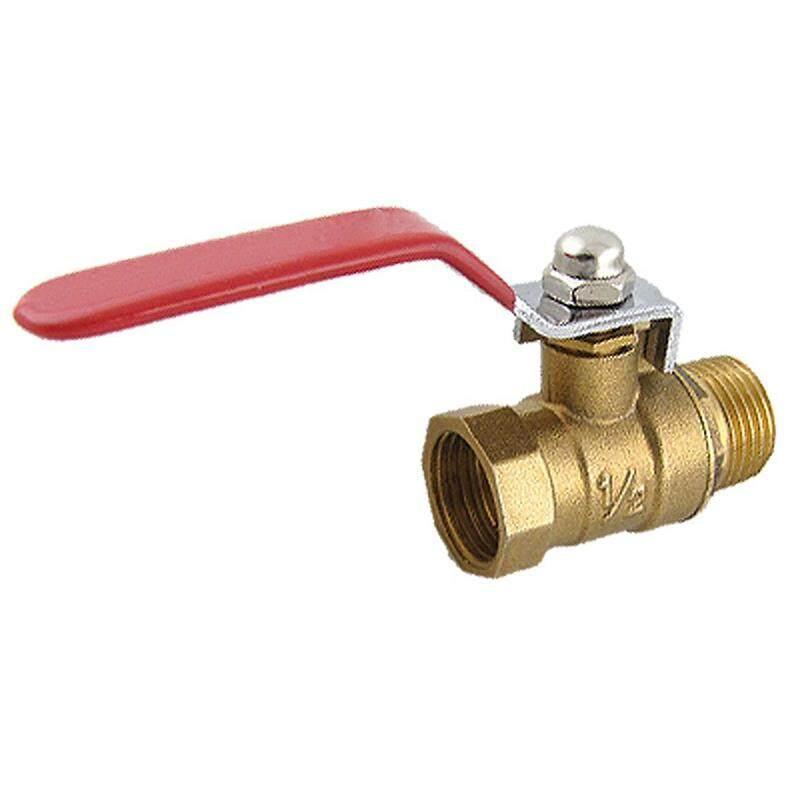 Male to Female M/F Thread 1/2 Full Port Brass Water Ball Valve - intl