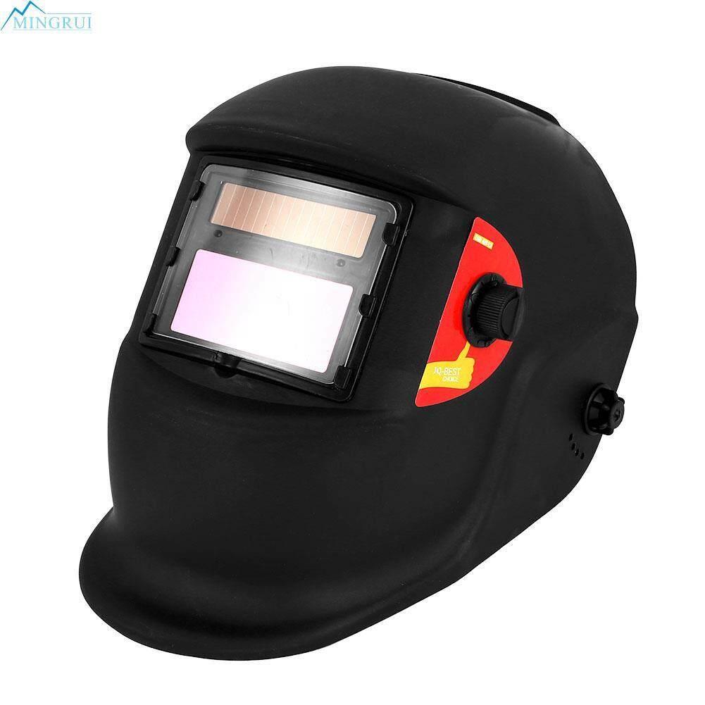 Mingrui Store Solar 1/25000 Welding Helmet Welding Mask Darkening Welding