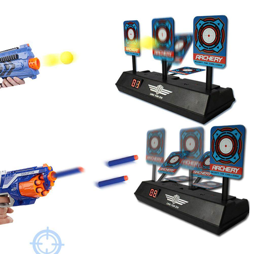 SE Children Electric Score Bullet Target Toy for Nerf Toys Soft Bullets Blaster (Not Include Toy Gun or Bullets)