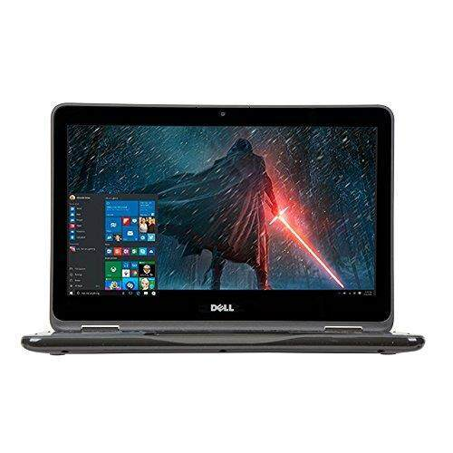 2018 Newest Dell Lightweight Inspiron 11.6 Touchscreen 2 in 1 Laptop PC AMD A6-9220e Processor 4GB DDR4 RAM 32GB eMMC SSD Hard Drive Radeon R4 Graphics Wifi Webcam Bluetooth 3.2 Lbs Windows 10-Gray - intl