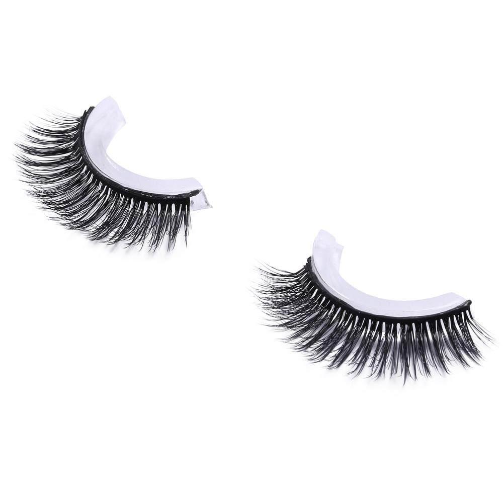 Vernonstore_Natural Bulu Mata Mode Makeup Mata Buatan Tangan Panjang Bulu Mata Palsu Tebal Jarang