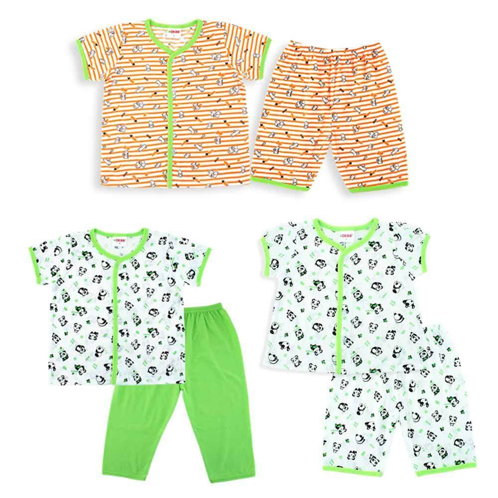OKBB Budget Value Pack For Baby Girls Clothing BS50S56S57 (Free Gift Box)