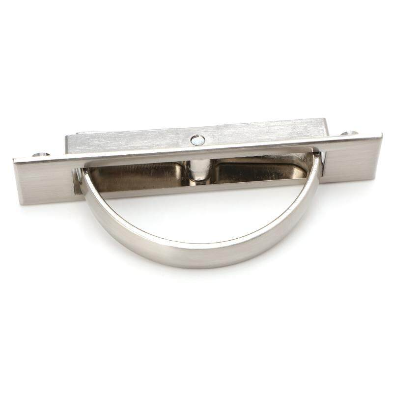 Hidden Door Handle Zinc Alloy Recessed Flush Pull Cover Floor Cabinet Furniture - intl Philippines