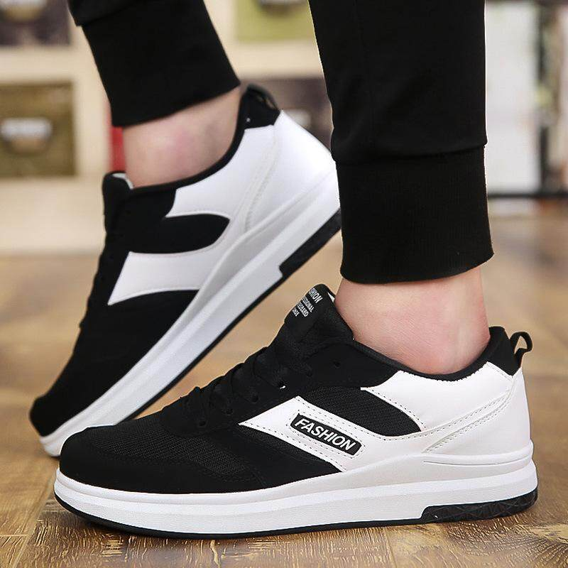 High Quality new Bernapas Pria Korea Sepatu Skateboard Sneaker Lari-Intl ceba27ceca