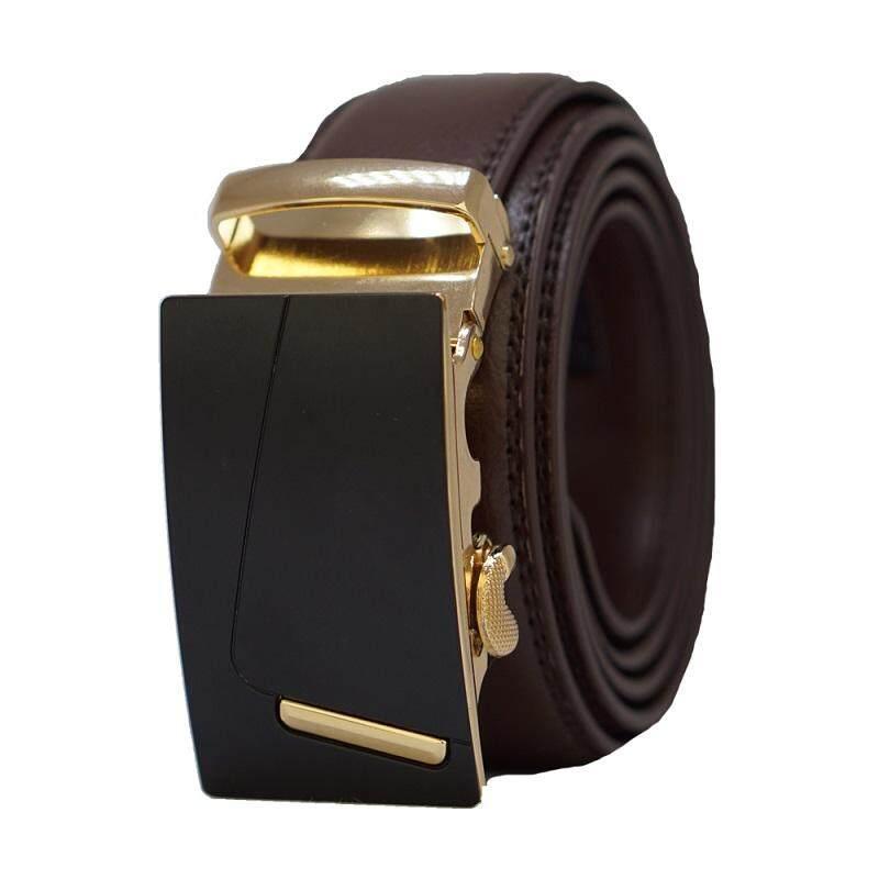 Original A97 Genuine Calf Skin Premium Quality Luxury Leather Men Belt - Adjustable Strap for Size M , L
