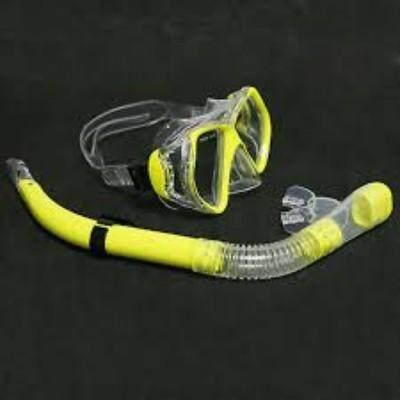 Adult Swim Diving Scuba Anti-Fog Goggles Mask & Snorkel Swimming Equipment