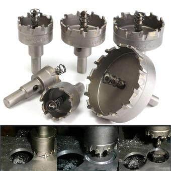 การเปรียบเทียบราคา 6pcs/Set 22 - 65mm Carbide Tip TCT Drill Bit Hole Saw Stainless Steel Alloy Tool Portable one size ซื้อ