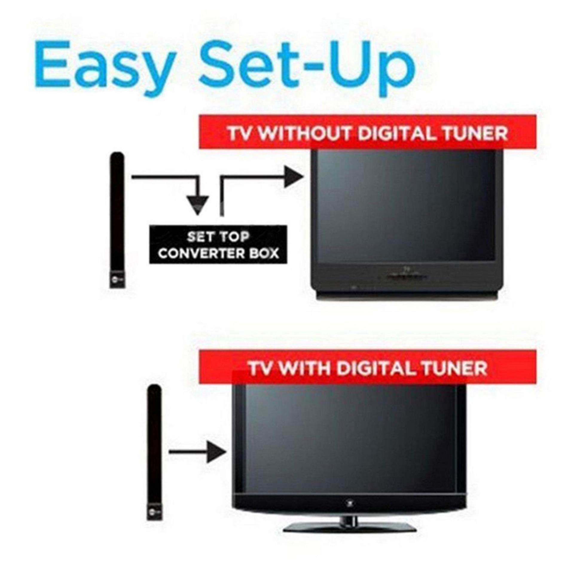 Hình ảnh Clear TV Key HDTV FREE TV Digital Indoor Antenna Ditch Cable As Seen on TV US EU 1080p