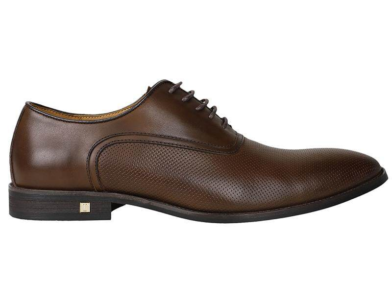 Tomaz F109 Perforated Lace Up Formal