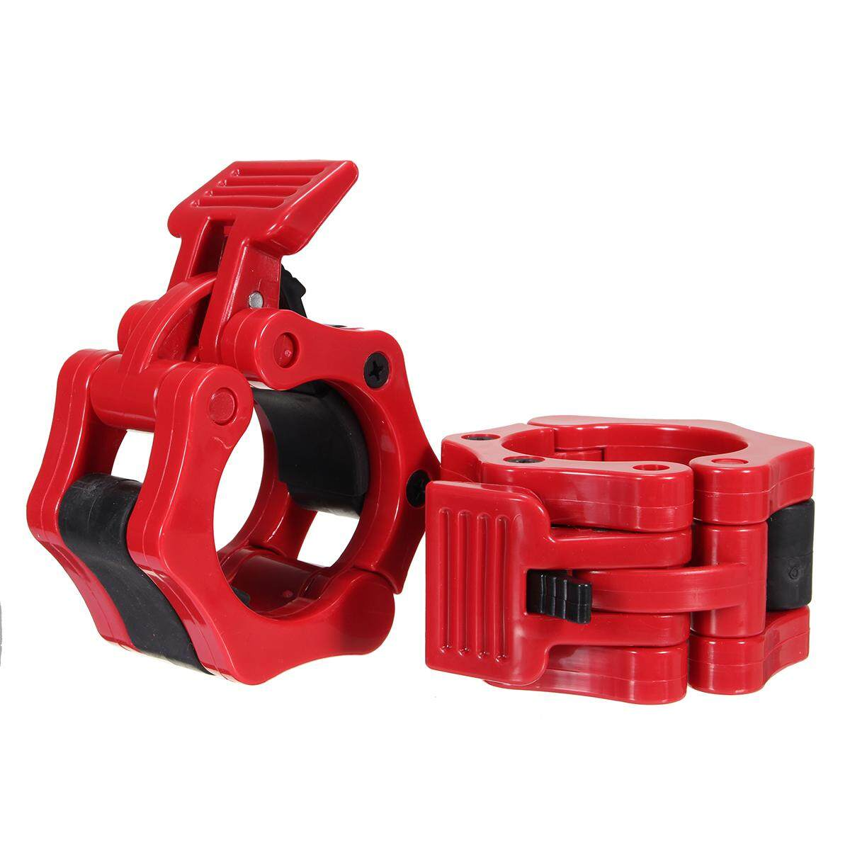 1 Pairs 50mm Olympic Barbell Lock Clamp Collar Clip Dumbbell Spinlock By Freebang.