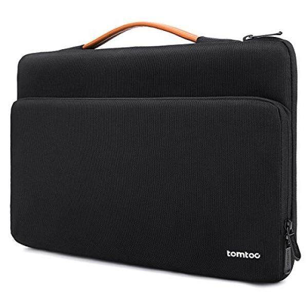 Laptop Sleeves Tomtoc 360° Protective Laptop Sleeve Case for 13.3 - 13.5 Inch MacBook Air MacBook Pro Retina 2012-2015 13.5 Surface Book 2 2017 Surface Laptop HP Dell Acer Samsung Chromebook Tablet, Black - intl