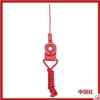 HP tali gantungan set dua potong split berputar gesper cincin shell Tali kreatif Kartu kerja Gantungan nama Tali tank top tali gantung leher