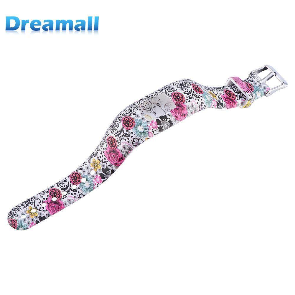 Replacement Patterned Watch Band for Vivofit 3/JR/JR2 Silicone - intl