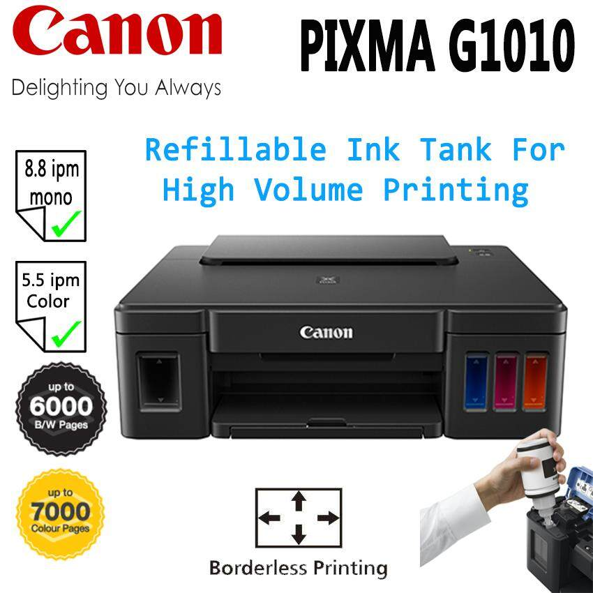 CANON PIXMA G1010 PRINTER REFILLABLE INK TANK SYSTEM