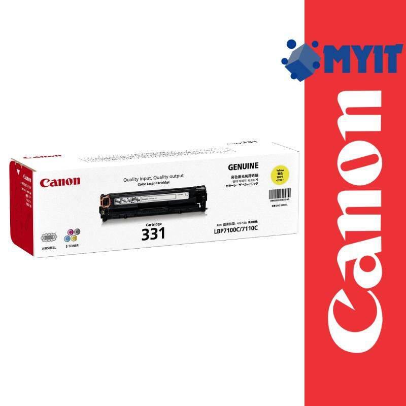 Canon Original Color Cartridge 331 Yellow Laser Toner for MF8210cn MF8280cw LBP7110Cw LBP7100Cn