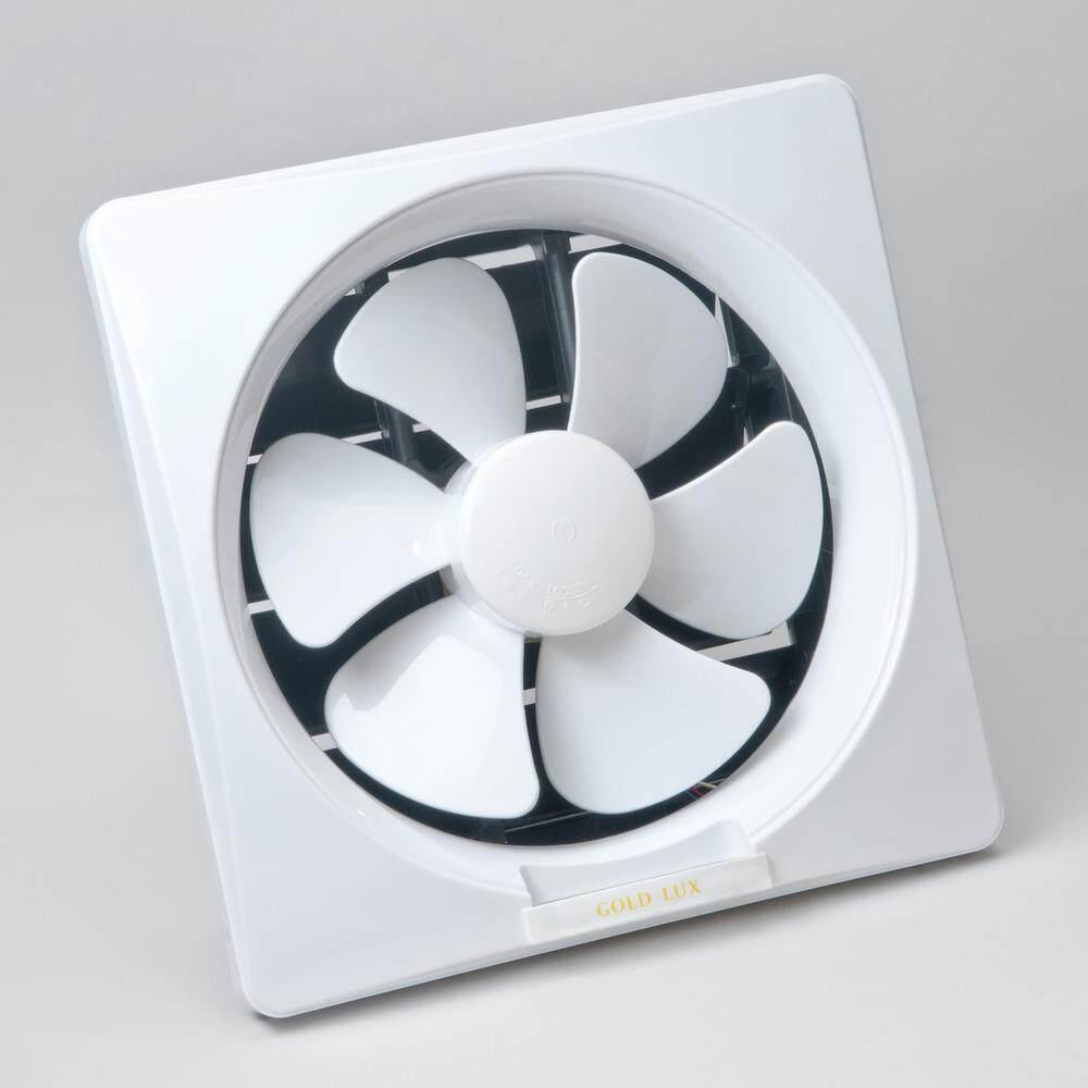Gold Lux 10 Inch Wall Type Pvc Exhaust Fan White