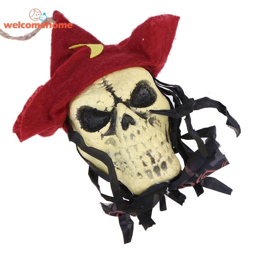 1 Pcs Spanduk Tengkorak Bendera Hantu String Tali Liontin Halloween Ktv Club Bar Alat Peraga Dekorasi By Welcomehome.