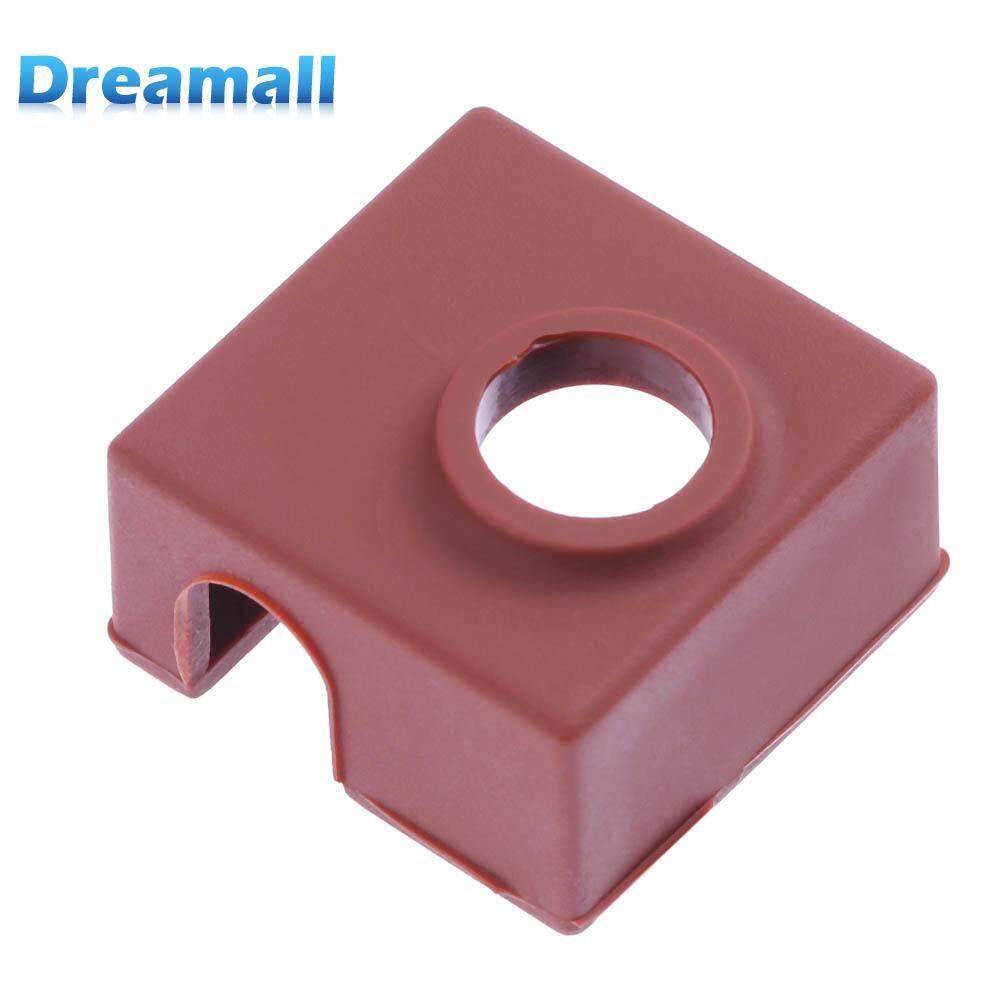 Hình ảnh Silicone Protective Insulation Socks Cover Case for MK7/MK8/MK9 Heater Aluminum Block - intl
